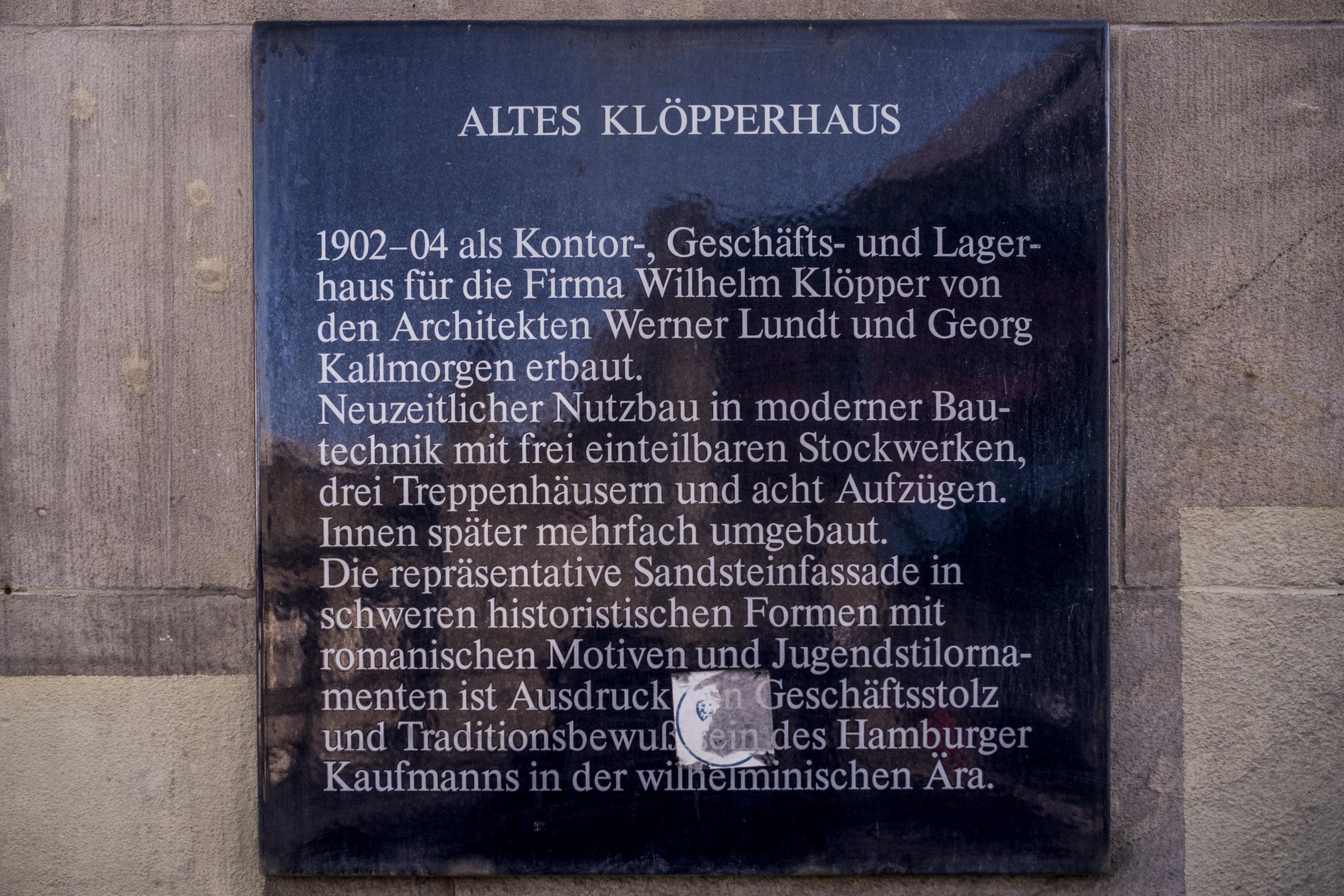 Klöpperhaus Hamburg